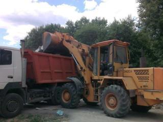Очистка участков территории планировка.