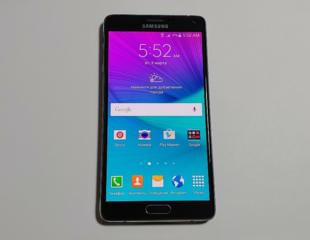 Samsung Galaxy NOTE 4 (CDMA) - 1800 руб. (Тестирован в IDC).