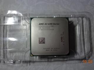 Процессор AMD A4-6300 в связи с апгрейдом, покупался новым в ТирАЭТе.