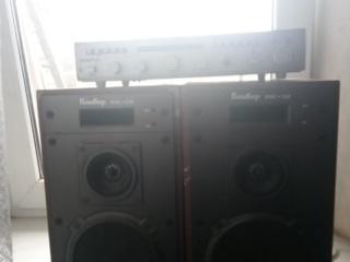Продам усилитель и колонки Клевер 10АС-232