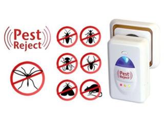 Ультразвуковой отпугиватель тараканов, грызунов - Pest Reject