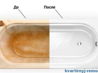 Реставрация ванн в Дубоссарах.