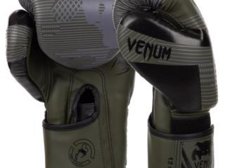 Перчатки боксерские PU на липучке VENUM камуфляж