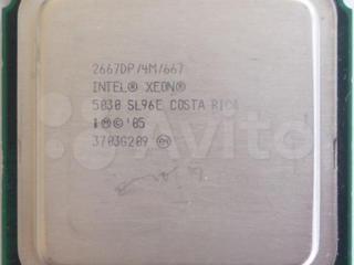 Процессор Intel® Xeon® 5030. 2 ядра 4 потока