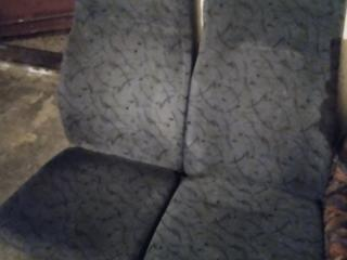 Продам 5 сидений без ножек для микроавтобуса