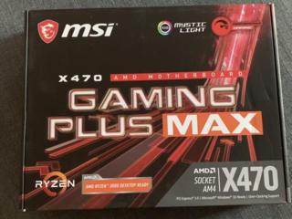 MSI X470 GAMING PLUS MAX Топ материнская плата для Ryzen-3500р