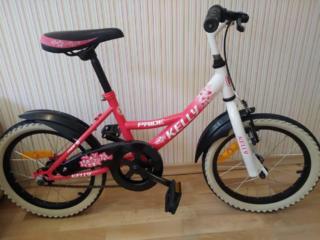 Велосипед для девочки от 3 -7 лет
