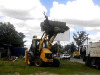 Услуги спецтехники снос демонтаж строений очистка участков