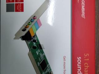 Продам новую звуковую карту PCI GEMBIRD SC-5.1-3