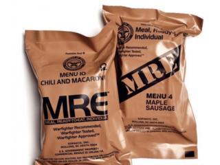Сухой паек армии США, Ready-to-Eat (MRE)