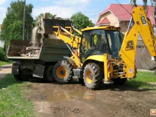 Очистка участков территорий планировка территорий доставка чернозёма вывоз