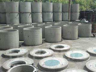 Бетонные канализационные кольца.