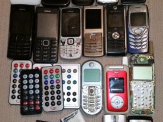 Старые телефоны gsm/sdma