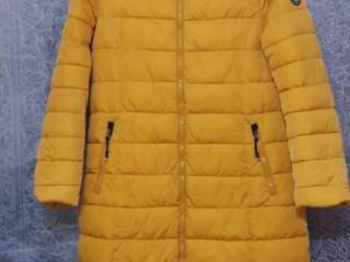 Se vinde scurta de iarna galbena XL, Scurta toamna/primavara albastra