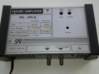 Усилитель ТВ сигнала House Amplifier WA-36RA