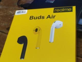 Наушники realme Buds Air, звук отличный. Новые с магазина.