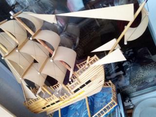Продам корабль ручной работы 1500 руб