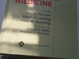 Textbook of pediatric emergency medicine, Fleishner