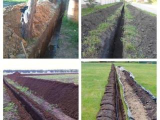 Бельцы Sapam canalizare apeduct/копаем канализации траншеи сливные ямы