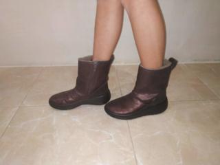 Обувь для девочки 33 размер. Сезон осень- зима, мембрана гор текс.
