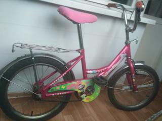 Детский двухколесный велосипед для девочки на 110-134 см роста