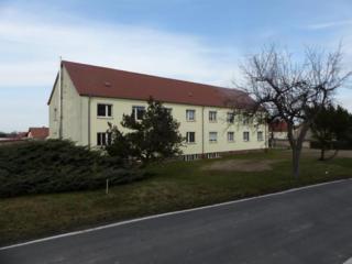 ФРГ, в городке под Лейпцигом -недорогая 3-комнатная квартира с гаражом