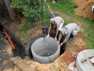 Копаем канализации! есть бетонные кольца трубы! резка бетона асфальта!
