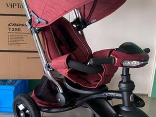 Трехколесный детский велосипед коляска Crosser T350 Eco Б/У.