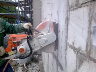 Алмаз резка! Демонтаж стен перегородок! Резка дверных оконных проёмов!
