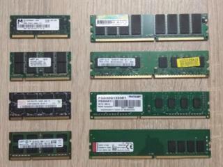 ПК DDR2-3 (2GB) Ноутбучные DDR2, DDR3, DDR4