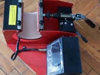 Чашечный термопресс и принтер Epson L805 с набором для сублимационной