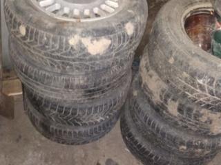 Шины с дисками на BMW 524td