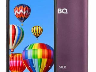 Продам смартфон BQ-5520L Silk, VoLTE/GSM, в рабочем состоянии