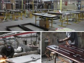Производственному предприятию: Сварщик, маляр - мебельных фасадов, упаковщик-сборщик металлодверей
