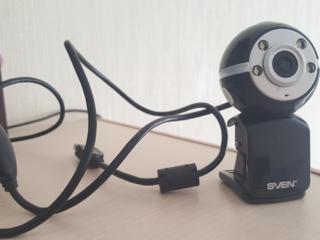 Камера SVEN CU 2.1, четкая картинка, магнитная подставка-прищепка