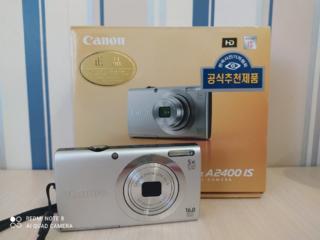 Предлагайте цену! Рабочий Фотоаппарат Canon PowerShot A2400 IS.