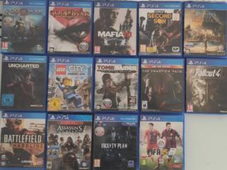 Игровые диски от Playstation 3&4