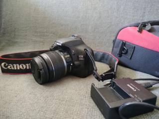 Зеркальный фотоаппарат Canon EOS 550D + Canon 18-55 mm макро со стабом