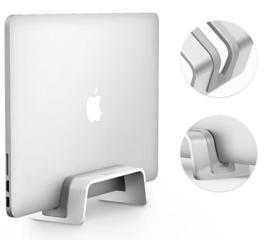 Вертикальный стенд для ноутбука.