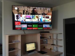 Навеска установка телевизоров любых марок любых размеров