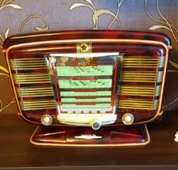 Радиоприёмник Звезда 54. После полной реставрации