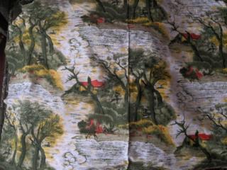 Ткань натуральная на портьеры новая, производства Индия,цена 50 лей за