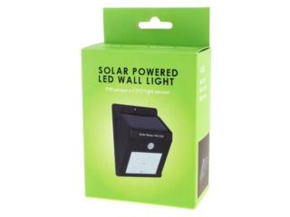 Светодиодный уличный светильник с аккумулятором и солнечной панелью