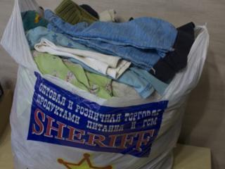 Отдам пакет одежды б/у на мальчика 3/4 года.