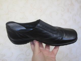 Мегаудобные кожаные туфли