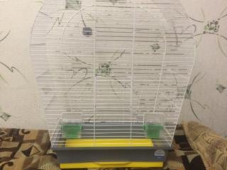 Большая клетка для попугая.