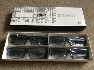 Продам недорого комплект новых пассивных 3D очков для телевизора.