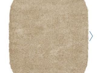 Ковёр Шегги песочного цвета овальной формы. Торг уместен!