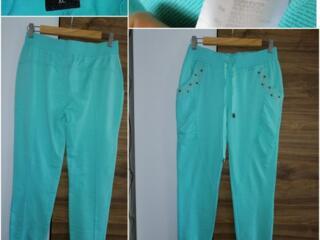 Яркие Мятные штаны