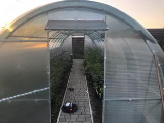 Теплица садовая под поликарбонат